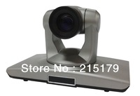 Video Conference Camera,Full HD 720P PTZ Video Conference Camera 18x Optical Zoom DVI Interface Can Convert to HDMI