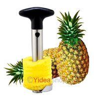 1pcs Hot Kitchen Tool Stainless Steel Fruit Pineapple Corer Peeler Parer Slicer Cutter 80016