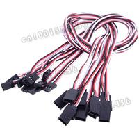 10 Pcs/lot  50CM 500mm Servo Extend wire Servo Extension Lead   19194