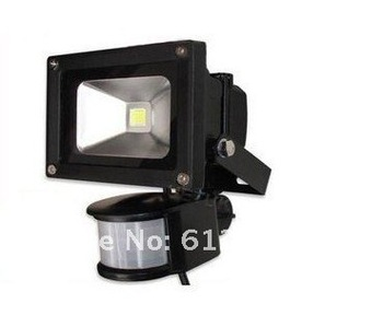 PIR 10W LED Floodlight 900LM 85-265V Motion Sensor Day Night Sensor
