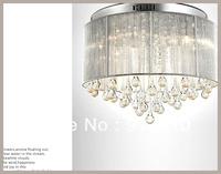 FREE LED BULB 11-240V K9 D45 H32MM CRYSTALFABRIC PEDANT LIGHT  LIGHT HOLDERS WITH LAMPSHAPE FOR PARLOR/BEDROOM/HOTEL