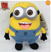 Despicable Me Minion 3D Eye Plush Toy Stuffed Animal Doll 22CM Jorge Teddy hot!!
