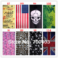 50pcs Bike Bicycle Outdoor Sport Multifunction Head Scarf Magic Headband NEW headscarf,bike scarf