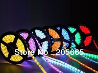 free shipping 5M 500CM Waterproof RGB 5050 LED Strip