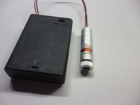 250mW adjustable 650nm red laser diode module, 3pcs #5 batteries, 12x45mm,