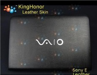 "KH Special Laptop Leather Cover Skin For  SONY VAIO E 14""Inch  + Free shipping"