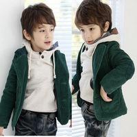 Clothing boys child baby autumn 2012 100% cotton suit dress outerwear