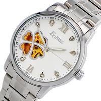 Egnian rhinestone sheet cutout vintage ladies watch fashion table fully-automatic mechanical watch women's watch