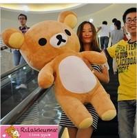 Rilakkuma Large 1.1 meters bear doll plush toy day gift