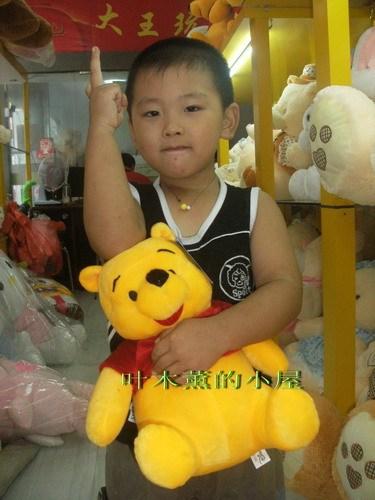 Birthday gift WINNIE plush toy 35cm(China (Mainland))