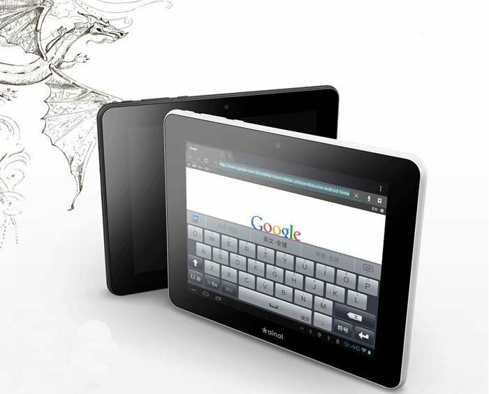 NOVO7inch android4.0 internet network tablet pc personal computer laptop best notebook netbook WIFI touch screen free shipping(China (Mainland))