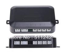 Free shipping New 4 Parking Sensors Car LED Display Reverse Backup Radar Kit