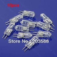 D19+Free Shipping 10pcs/lot Halogen Light Bulb 20W 20 Watt 12V G4 Base JC Type