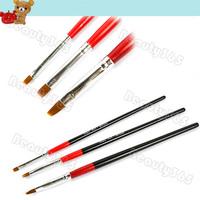 30pcs/lot Tiny Acrylic Nail Art Brush Set Pen Drawing Painting Set 4579