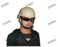 Free Shipping ACH Light Weight Helmet Tan