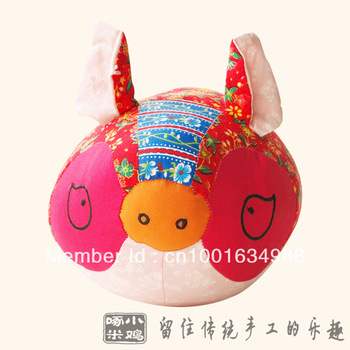 very cute  fat pig,Chinese conventional gift for chiildren and lovers