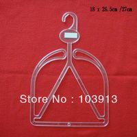 200pcs/Lot  18*27cm Big Size Transparent Plastic Hat Hangers for Adults / Adults Hat Hanger + EMS Free Shiping