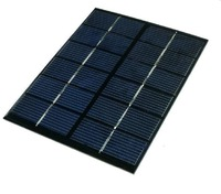 Mini 2W Solar Cell Polycrystalline Solar Panel Solar Module DIY Solar Charger Silicon Solar panel 6v 2w solar cell