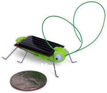 Fashion Solar Robot DIY Kit Bug cockroach insect solor toy  Mini bug  Xmas giftFree shipping 50 pcs/lot