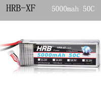18.5V 5000mAh 50C Max 55C 5S 5Cells 18.5Volt RC LiPo Li-Poly Battery Free Shipping