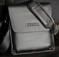 ZEFER brand male top cowhide official man's grace shoulder bag free shipping