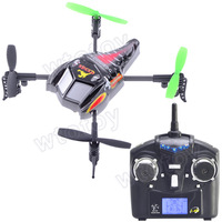 Mini 4CH Radio Remote Control Throwing Four-axis RC UFO Helicopter Scorpion Shell Shape 20374