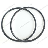 30mm wide carbon rims 29er clincher 20mm for mtb bike weave 3k 12k ud front or rear