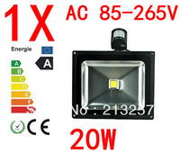 1pcs 10W 20W 30W  50W induction lamp LED flood light outdoor lamp monitoring security shoot the light
