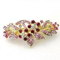 F011 accessories hair accessory rhinestone flower small hairpin hair pin