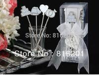Free shipping ,Stainless Steel Mmperial Crown Design Kitchen Fruit Fork, Gift Wedding 4pcs/set