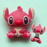 New cartoon animals red USB2.0 Flash Memory Stick Pen Drive High Qualtiy/four capacity selection