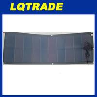 Encapsulation Leather base LQFS40W Flexible solar panel