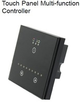 Touch panel Multi-function controller ,DC12V -24V,<4A( each channel ) for led strip
