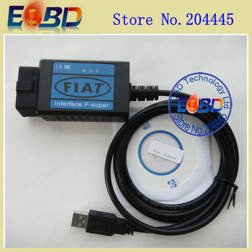Fiat Scanner Free Shipping(China (Mainland))
