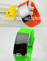 fashion LED electronic watches High precision Movement Performance lasting 12pcs/lot Free shipping