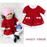 free shipping!Christmas gift!Baby bodysuit baby one-piece dress formal dress skirt 0 - 6