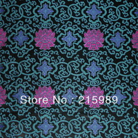 fabrics textile, Chinese silk tapestry satin,national ,chrysanthemum