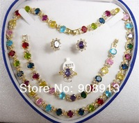 Fine jewelry fashion jewelry jade jewelry set, free shipping L-292