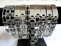 Free shipping Wholesale mix lot   Men's stainless steel bracelet fashion bracelet bracelets jewelry