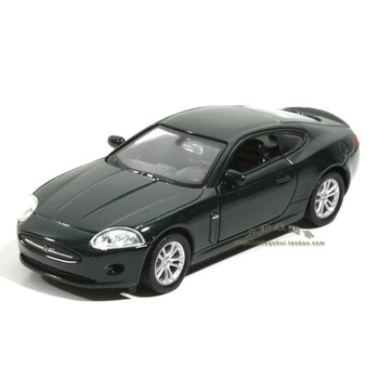 Jaguar jaguar xk coupe alloy WARRIOR car model blackish green wyly