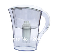 Hot!!!Free Shipping High Quality Best Price White Color By China Post 2L Alkaline Water Jug Water Filter Alkaline Water Pitcher