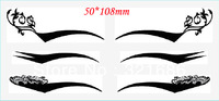 100 sheets(3 pairs in one sheet) eye stickers eyeliner eye liner stickers Temporary Tattoos cosmetics makup