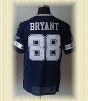 Arrived New Dallas Football Jerseys 88 Dez Bryant Blue White Elite Jerseys