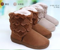2013 HOT ! Fashion Lovely Lady Winter boot for Women snow boot & brown,beige