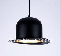 novelty product lamps design ac 220v 110v e27 Jeeves Wooster Top Hat chandelier modern round aluminum home residential lighting