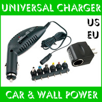 1.5 3 5 7 9 12V AC DC Adaptor Power Supply Charger for Tablet PC US EU In Car