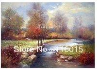 """100% Handmade art Oil painting Thomas 24""""x36'' inch  Free shippingb11"""