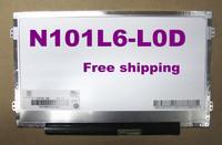 Laptop Screen Display Panel N101L6-L0D N101LGE-L41 B101AW06 LTN101NT05 LP101WSB Ultra Slim LED for ACER ONE D255 D260 D257 D270