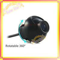 Promotion high quality CCD HD night vision car camera front view side view rear monitor for 360 degree Rotation Universal