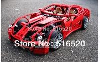 Decool 599GTB racing car series 1:10 Building Block Sets 1322pcs Educational Jigsaw Enlighten DIY toys for children 3333